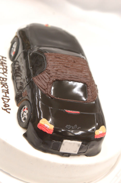 車のケーキ ポルシェ・ボクスター