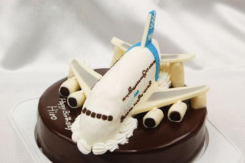 バースデーケーキ 飛行機