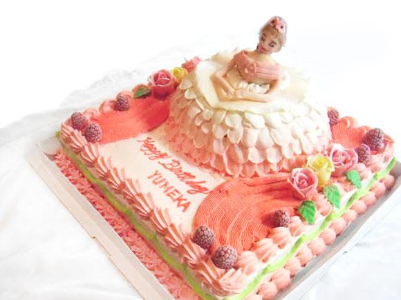 バレリーナ ケーキ
