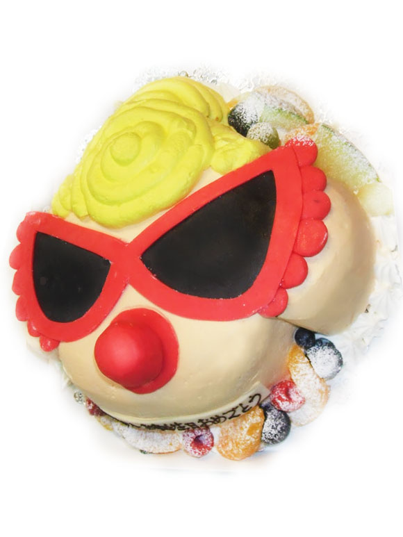 ヒステリックミニ キャラクター立体ケーキ