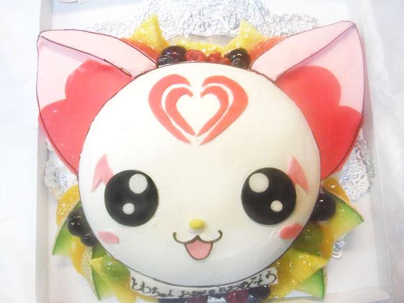 キャラクターケーキ ハミィ