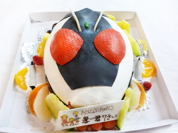 仮面ライダーフォーゼ ケーキ