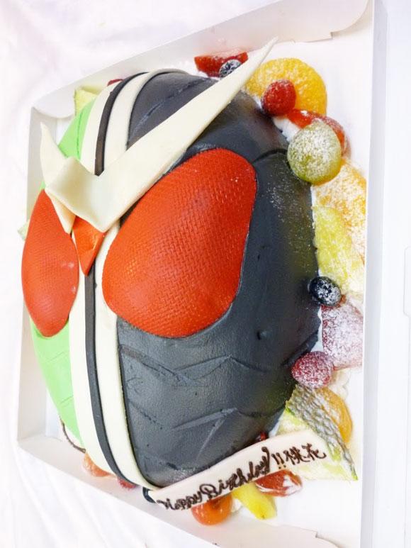 仮面ライダー ケーキ