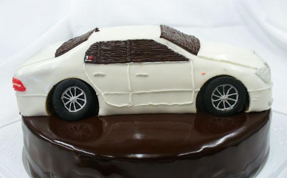 セルシオ 車のケーキ