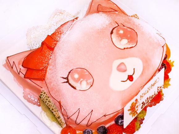 キャラクターケーキ ジュエルペット