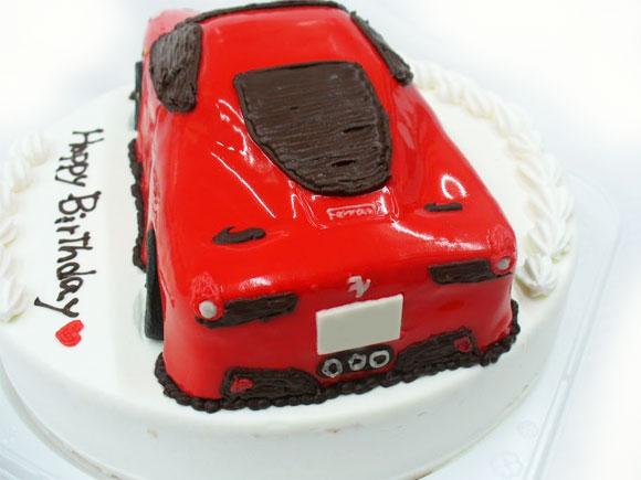 車 3Dケーキ