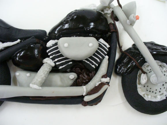 3Dケーキ バイク