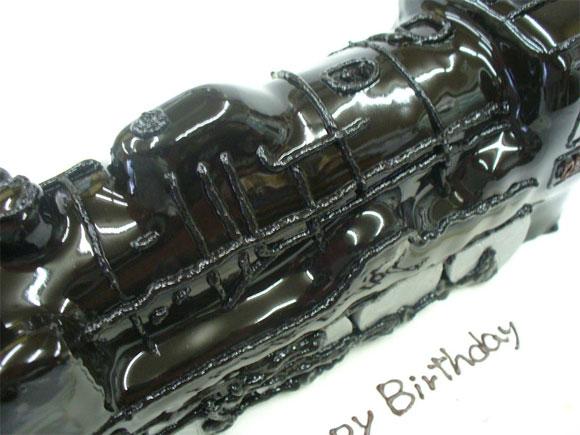 機関車のケーキ