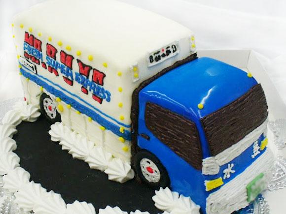 デコトラ 車のケーキ