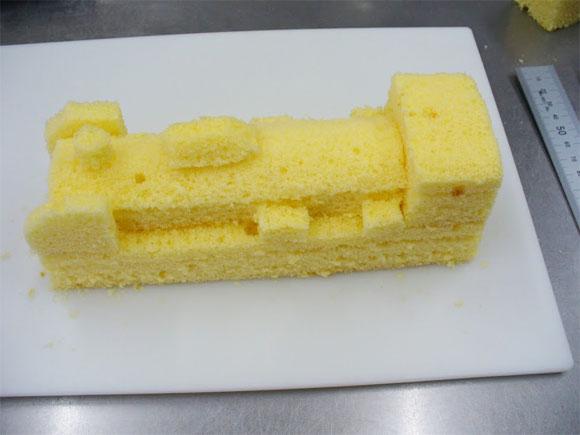 3D スポンジケーキ