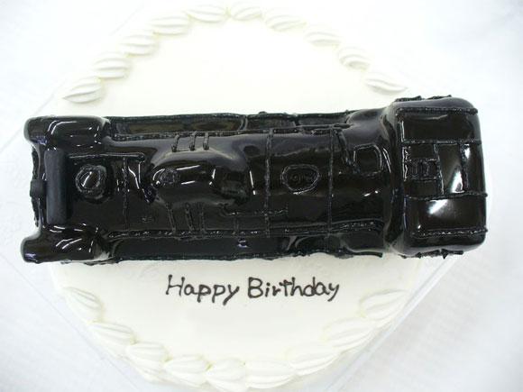 蒸気機関車 ケーキ