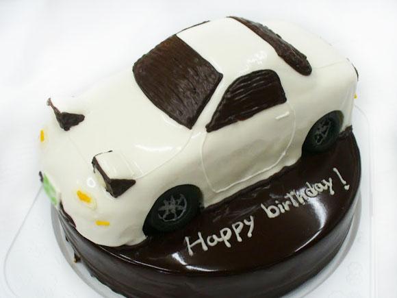 3Dケーキ 車
