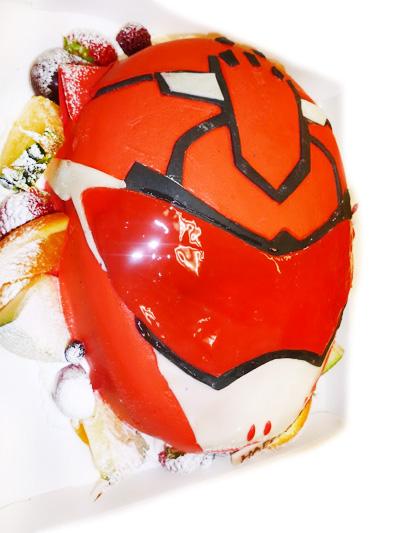 ゴーバスターズ キャラクターケーキ