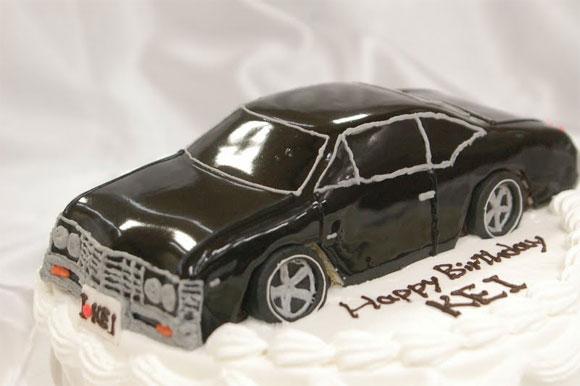 車のケーキ シボレー