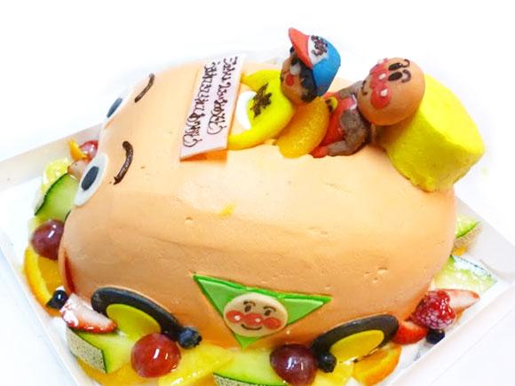 キャラクター立体ケーキ アンパンマン号