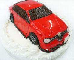 車のケーキ アルファロメオ