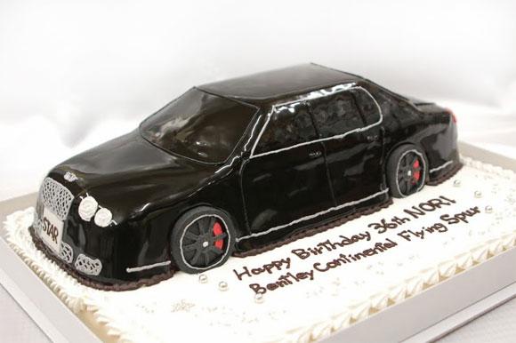 車のケーキ ベントレー