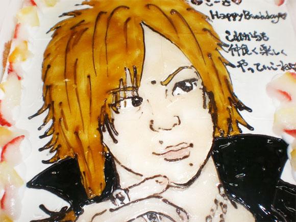 誕生日ケーキ 似顔絵