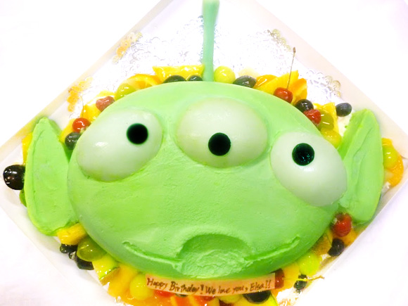 トイストーリー リトルグリーンメン 3Dケーキ