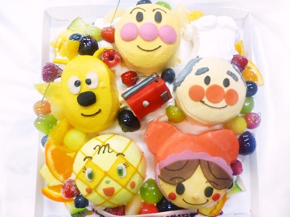 アンパンマン 3Dケーキ