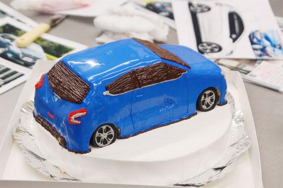 車のケーキ オーダー