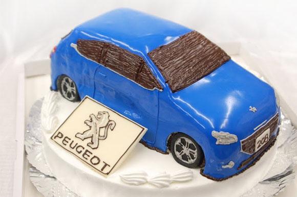オーダーケーキ プジョー208