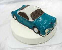 車のケーキ カルマンギア