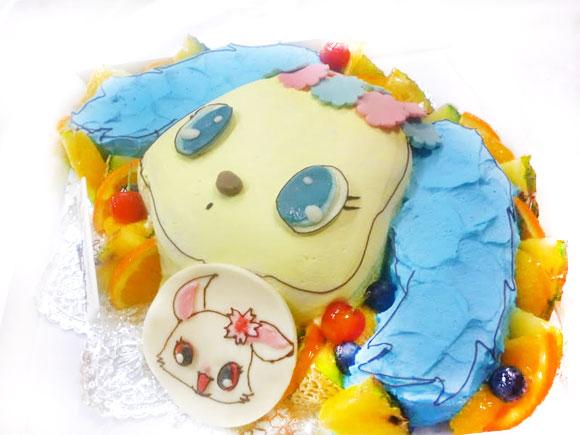 誕生日ケーキ ジュエルペット