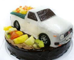 車のケーキ サニトラ(サニートラック)