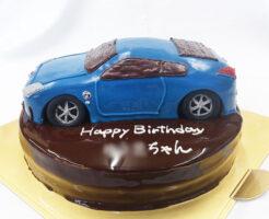 バースデーケーキ 車