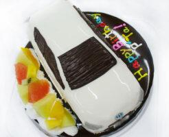 車のケーキ アクア
