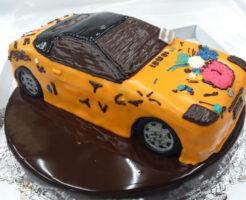車のケーキ フィアット