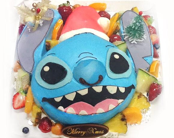 スティッチ クリスマスケーキ
