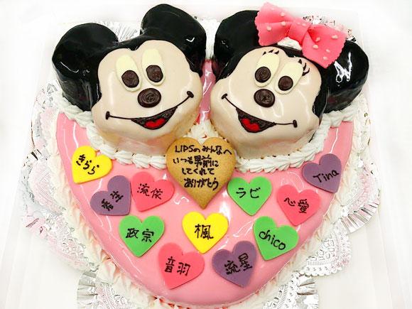 誕生日ケーキ ミッキー&ミニー