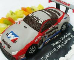 車のケーキ レーシングカー