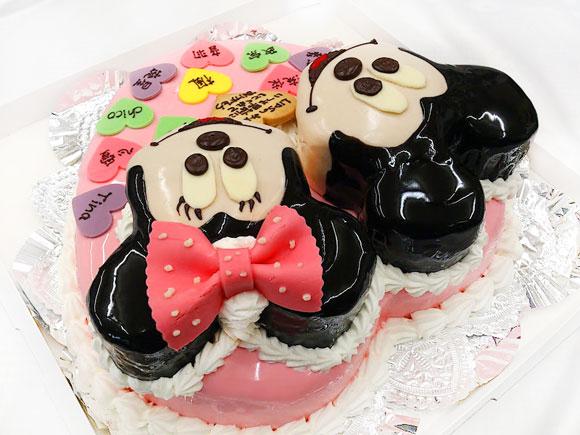 ミッキー&ミニーのバースデーケーキ