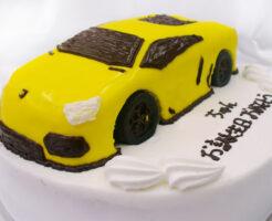 車のケーキ ランボルギーニ・アヴェンタドール