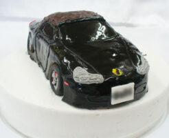 ポルシェ・ボクスター 車のケーキ