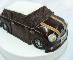 車のケーキ ミニクーパー