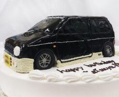 アルト・ワークス 車のケーキ