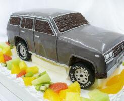 ランドクルーザー(ランクル)のケーキ