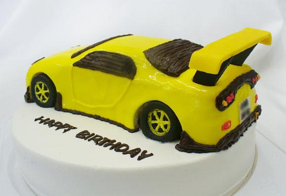車のケーキ RX-7