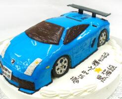 ランボルギーニ 車の3Dケーキ