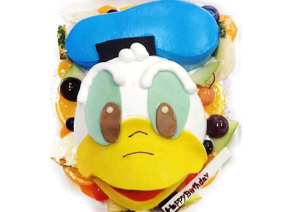 ドナルドダック 誕生日ケーキ