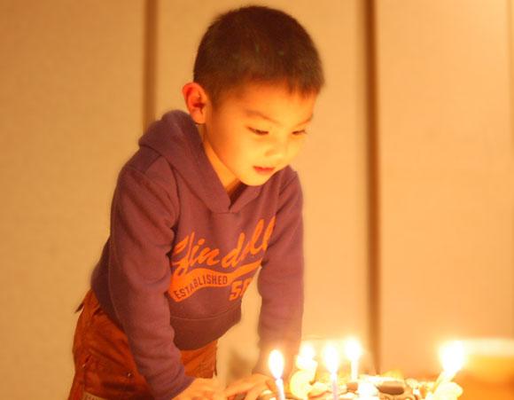 タイガくんの誕生日ケーキ