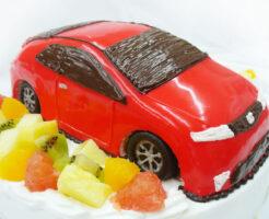 車のケーキ シビックTypeR