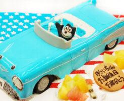 シボレー 車のケーキ