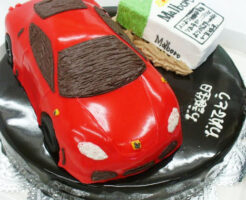 フェラーリ 車のケーキ F430