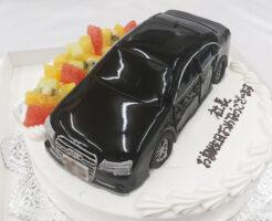 車のケーキ アウディS8