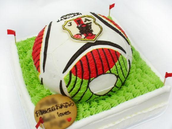 3dケーキ サッカーボール